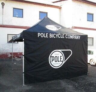3x3m Pole teltta