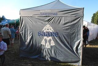 Mainosteltta Saaremaa