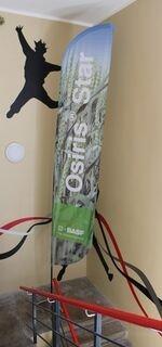 BASF mainoslippu 4,8m