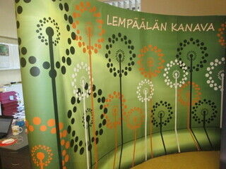 Mainosseinä Lempäälän Kanava