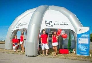 Ilmatäytteinen teltta Electrolux