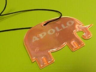 Erimuotoinen Heijastin Apollo