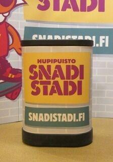 Esittelypöytä SnadiStadi