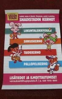 Juliste SnadiStadi
