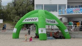 Crocs teltta