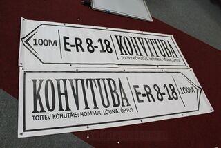 PVC banneri 2200x600mm
