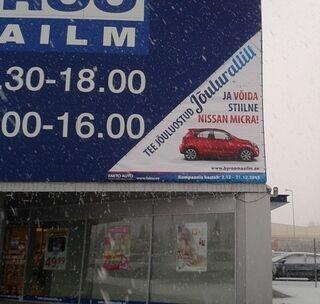 Reklaambänner Büroomaailm