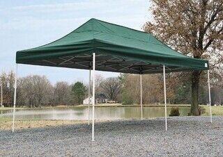 Vihreä pop up teltta