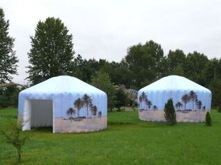 Jurtta teltat