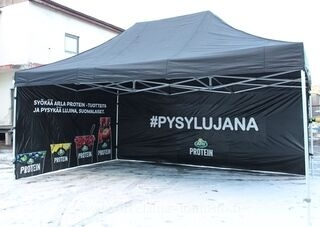 4x6m mainosteltta pop up