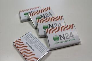 10g Suklaa logolla On24