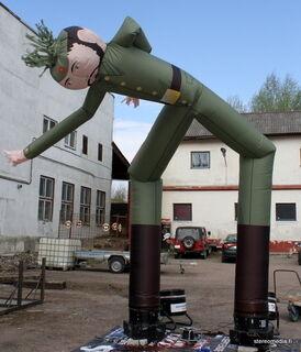 SkyDancer sotilas - tuuliukko 6 m