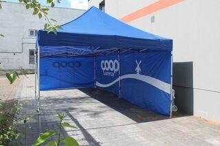Easyup tent 8x4m