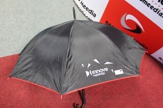Umbrella with logos