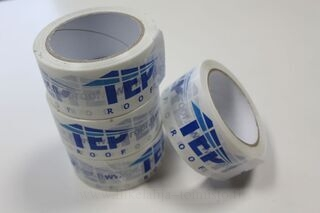 Packing tape with logo