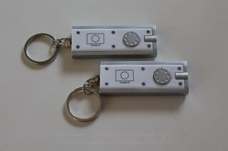 Keyring with logo