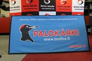 Biofire kaksipuolinen mainos