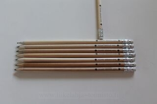 Pencils with logo