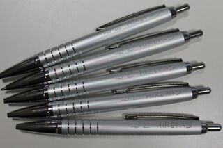 Pen with logo Hiirepadi