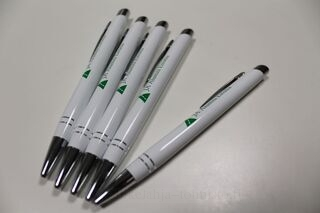 Pen with logo Ja Alumni Estonia