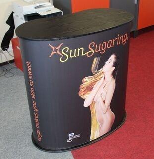 Esittelypöytä SunSugaring