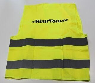 Logolla heijastinliivi Minufoto.ee