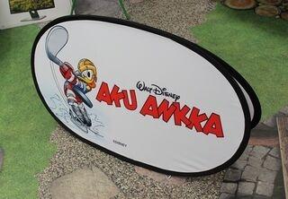 Soft banneri Aku Ankka 120x70cm