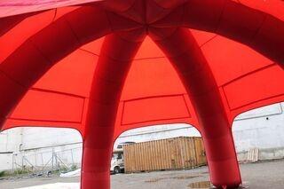 Spider teltta sisältäpäin