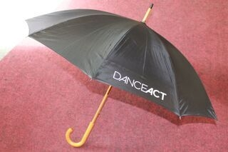 Umbrella with Danceact logo