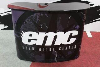 Euro Motor Center uusi messupöytä