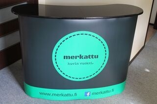 New exhibition table for Merkattu
