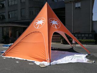 Star tent 8m