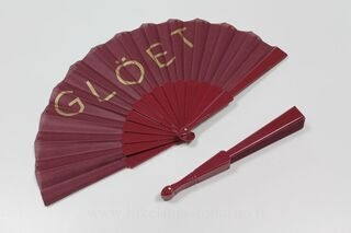Fan with logo Glöet