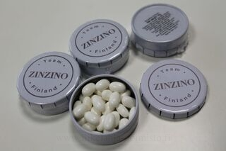 Pastilles with logo Zinzano
