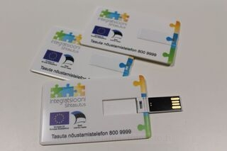 Custom printed usb memory card