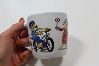 Coffee mug with picture