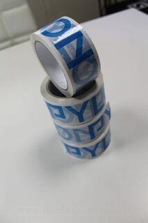 Pylon logolla teippi