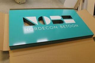 Nordecon Betoon mainoskyltti