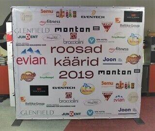 Advertising wall Roosad Käärid