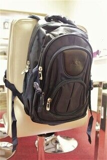 Backpack with NSD logo