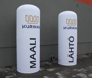 Inflatable advertisement