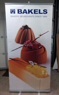 100x200 roll up Bakels