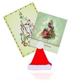 Muistipaperiteline Santa