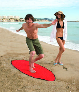 Towel Surfboard