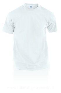 Adult White T-Shirt Hecom
