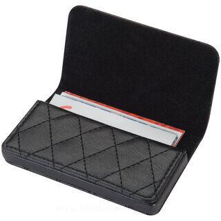 CrisMa business card holder with quilted pattern