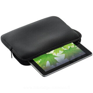 Neopren case for tablet PCs with zipper