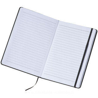 A5 note pad with lined pages