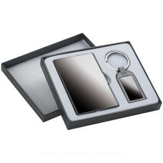 Käyntikorttikotelo ja avaimenperä setti