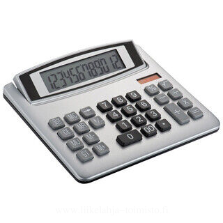 Dual-power desk calculator